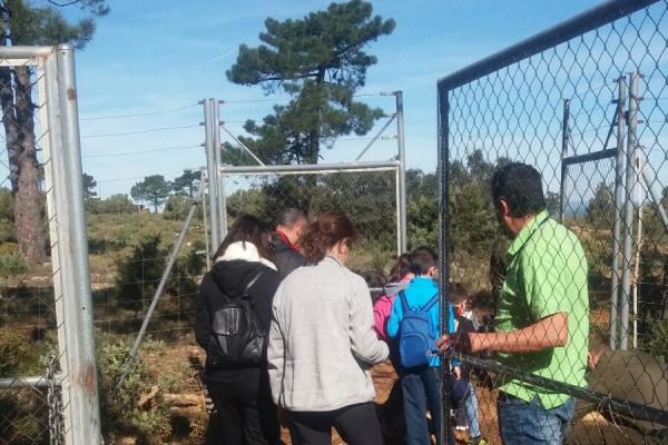 Visita escolar a la reserva
