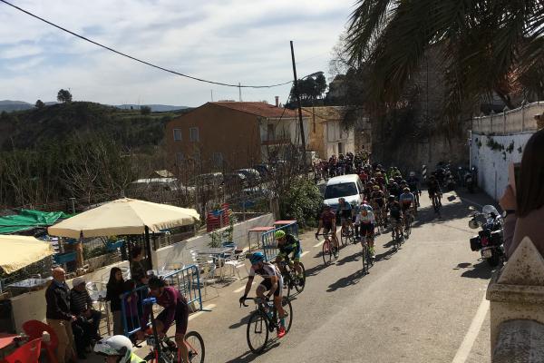 La I Marcha Cicloturista Tous pasa por Millares